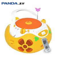 PANDA/熊猫CD-650 cd机dvd播放机影碟机家用儿童学生磁带U盘mp3插卡收音机收录机胎教机便携式播放器