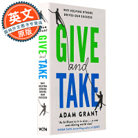 给予和获取 英文原版 Give and Take Why Helping Others Drives Our Succ