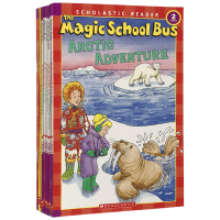 神奇校车科学读物10册桥梁书套装英文原版 The Magic School Bus Science Reader 少儿