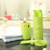 户外旅游洗漱包套装多功能收纳盒 便携男女旅行套装洗漱杯牙膏牙刷
