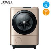 日立(HITACHI)BD-NX100GHC 香槟金 日本原装进口 洗烘一体全自动滚筒洗衣机