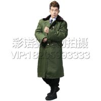 户外男士冬季防寒军大衣军迷雪地防滑防寒保暖长袖棉大衣长款棉大衣加厚耐磨耐穿羊绒抗高寒大衣
