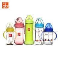 好孩子奶瓶 母乳实感标准径握把吸管PPSU奶瓶210ml B80204 09