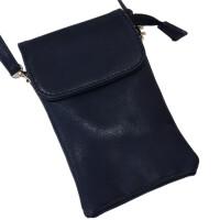 新款复古单肩斜跨包迷你小包包6寸大屏手机包8plus手机袋零钱包潮 灰色 8-7J21(磨砂)