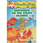 Shipwreck On the Pirate Islands (Geronimo Stilton #18)老鼠记者18 ISBN9780439691413