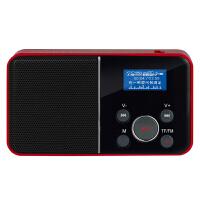 【当当自营】 熊猫/PANDA DS-116 数码音响播放器 插卡音箱 一键录音立体声收音机 红色