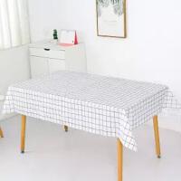 桌布防水防烫防油免洗台布茶几垫ins长方形餐桌布艺