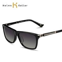 海伦凯勒 太阳镜男女款偏光镜大框时尚墨镜配近视镜H1329