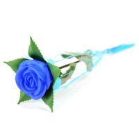 梦幻玫瑰花/情人节玫瑰花灯--蓝色3朵