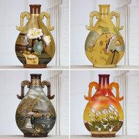 中式家装摆件家居客厅装饰品电视柜摆设博古架现代工艺品装饰陶瓷