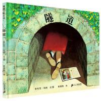 隧道绘本 精装小学生儿童绘本0-3岁获奖国际安徒生大奖 安东尼布朗作作品蒲蒲兰绘本馆图画书系列少幼儿童亲子情商故事4-