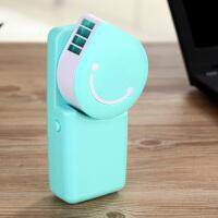 迷你创意个性空调小风扇USB制冷可充电便携式学生手持无叶时尚电风扇 均码