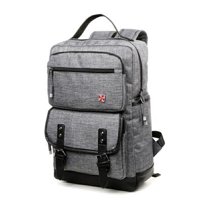 瑞士军刀时尚休闲大容量电脑双肩包SA9817礼品卡支付