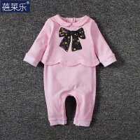 婴儿连体衣服宝宝新生儿长袖0岁3个月棉季春装季冬季新年