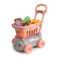 �和��物�玩具女孩娃娃超市小手推��^家家�����N房