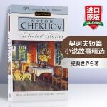 华研原版 契诃夫短篇小说故事精选 英文原版 Selected Stories: Anton Chekhov 全英文版进