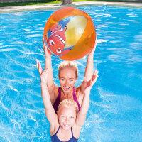 Bestway儿童充气沙滩球宝宝水上充气球戏水球婴幼儿玩具球