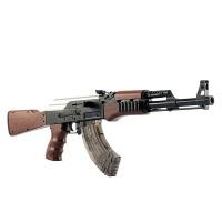 儿童玩具枪AK47电动连发可发射弹下供弹狙儿童玩具
