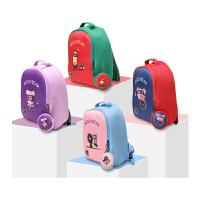 【限时秒杀】杯具熊(BEDDYBEAR)超人系列防水男女卡通可爱双肩背包 儿童幼儿书包