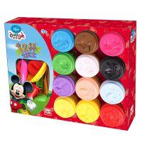 3d彩泥儿童玩具12色橡皮泥粘土玩具套装幼儿园手工