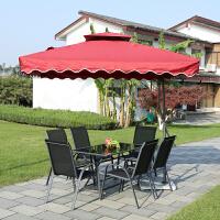 户外桌椅套装休闲桌椅组合露天台桌椅茶几三件套室外铁艺桌椅