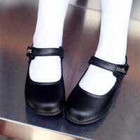 儿童皮鞋女童皮鞋黑色公主鞋春秋学生演出表演白色皮鞋
