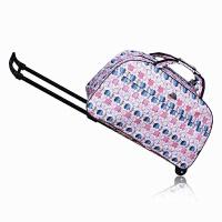 旅行箱拉杆袋行李登机旅行金属箱包手提男女防水包软