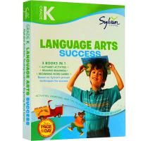 现货正版 Kindergarten Language Arts Success 英文版 美国幼儿园学前语言艺术练习册