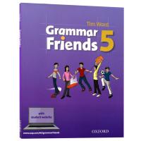 牛津小学英语语法书 英文原版 Oxford Grammar Friends 5 和语法做朋友 涵盖剑桥少儿英语考试语法寒