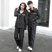 雨衣雨裤套装双层加厚防水防风男女分体徒步电动车摩托车雨衣新品