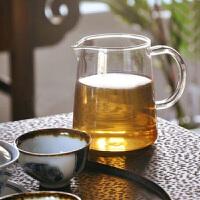 玻璃杯茶道茶�~260ML高硼硅耐�岵AР杈� 茶海公道杯 玻璃茶杯