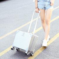 小型登机箱18寸行李箱女小清新旅行箱包男迷你拉杆箱韩版密码箱 18寸