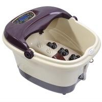 足浴盆电动按摩足浴盆电动洗脚盆滚轮足浴器自动加热足浴器滚轮按摩泡脚盆深桶
