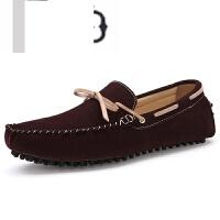 新品男士豆豆鞋 一脚蹬驾车懒人鞋 低帮单鞋0717