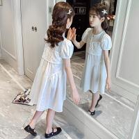 女童连衣裙夏季薄款童装儿童裙子夏装大童公主裙