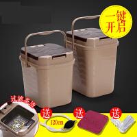 【支持礼品卡】茶渣桶茶桶塑料废水桶功夫茶具配件茶台垃圾桶家用排水桶小茶水桶s4r