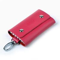 新款纯牛皮钥匙包元 男女士多用 真皮钥匙扣包皮