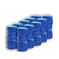 红兔子 30只装蓝泡泡洁厕灵马桶自动清洁剂 厕所除臭剂