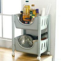 厨房置物架落地多层水果蔬菜架调料用品家用大全菜篮子筐收纳神器
