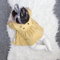 婴儿童装春秋冬裙子3个月0岁1洋气宝宝2连衣裙女童公主裙子