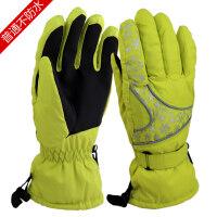 男女亲子款冬季滑雪手套防水加情侣防风户外登山骑行保暖手套新品