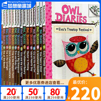 学乐大树系列 Owl Diaries 猫头鹰日记9本套装 英文原版 Scholastic Branches 初级桥梁章节书