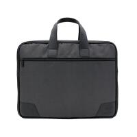 公文包会议包男士帆布拉链文件包资料袋商务办公电脑包手提包定制