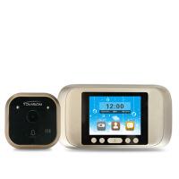 可视猫眼摄像头可视门铃防盗门镜监控移动侦测家用