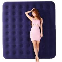 充气床垫双人 家用加大午休气垫床户外单人折叠野营垫便携桌椅床 蓝色