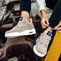 春季鞋子男潮鞋休闲百搭气垫运动鞋高帮板鞋厚底增高2020新款男鞋