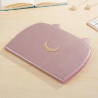 2017新款ipad wlan保护套9.7寸防摔外壳真皮平板电脑a1822壳全包 ipad6 air2 粉色