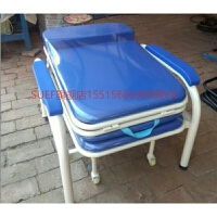 陪护椅床两用单人医院陪护椅 家用多功能折叠床办公午休椅加固