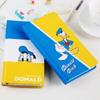 广博A6可爱卡通学生笔记本子记事本文具迪士尼唐老鸭IQT11101