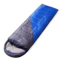 睡袋户外四季加厚旅行露营保暖可拼接双人睡袋